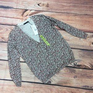 Zara Knits Cheetah Print Cardigan Size S